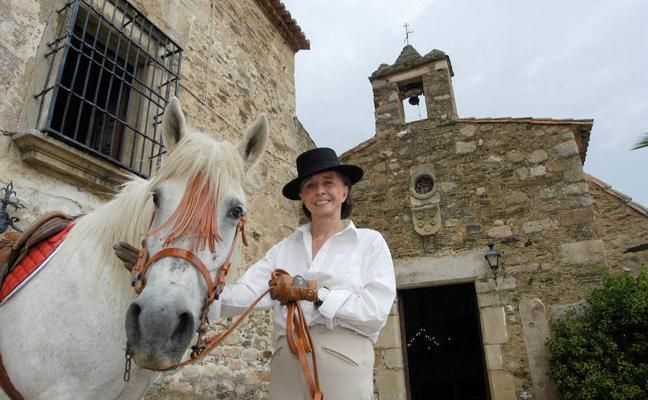 Muere la condesa de Romanones, una enamorada de Extremadura