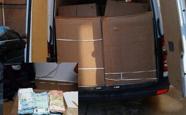 La Guardia Civil evita la venta ilegal de más de 4.700 kilos de tabaco en rama