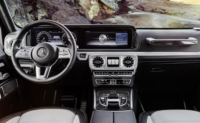 Mercedes anticipa el interior del nuevo Clase G