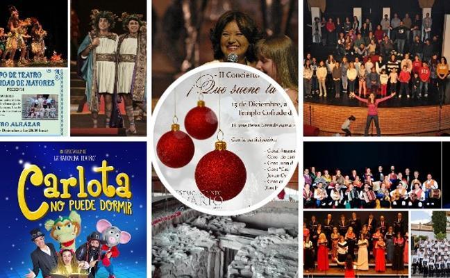 Villancicos, artesanía y solidaridad con sabor a navidad