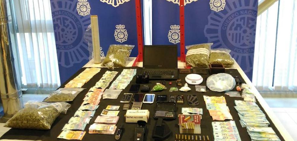 Once detenidos en Cáceres por formar parte de un grupo dedicado a la venta de droga