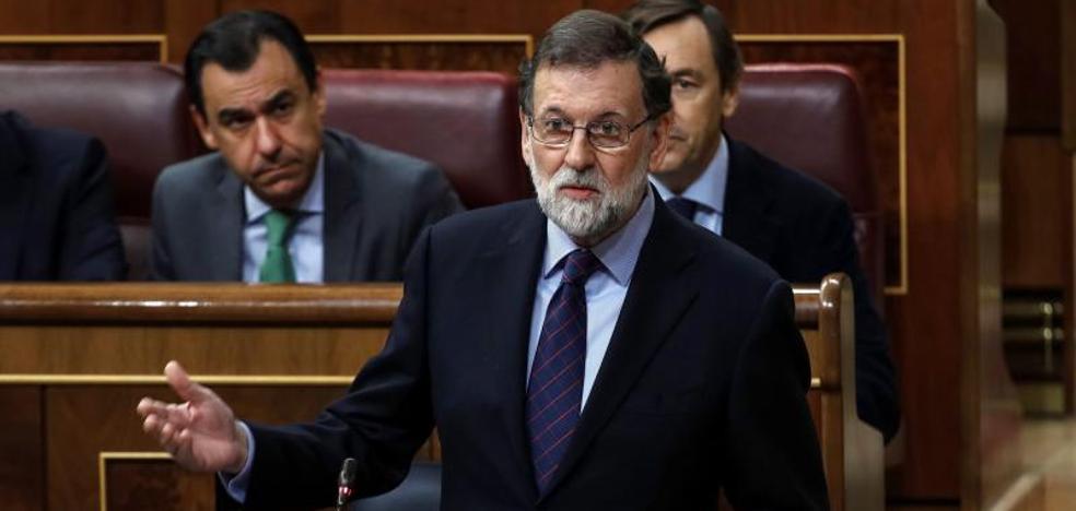 Rajoy califica de «muy razonable» su gestión