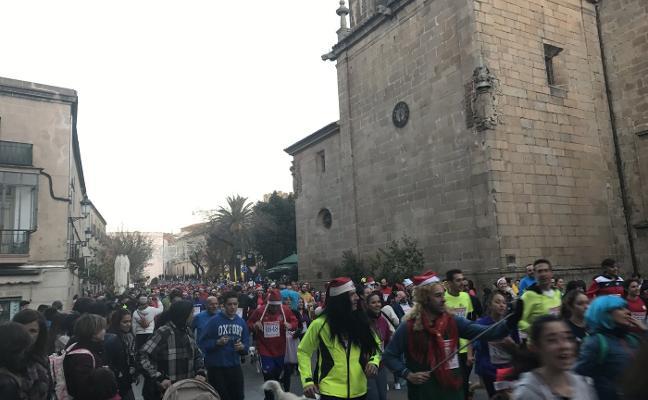 La San Silvestre de Cáceres prevé reunir este año a 7.200 participantes