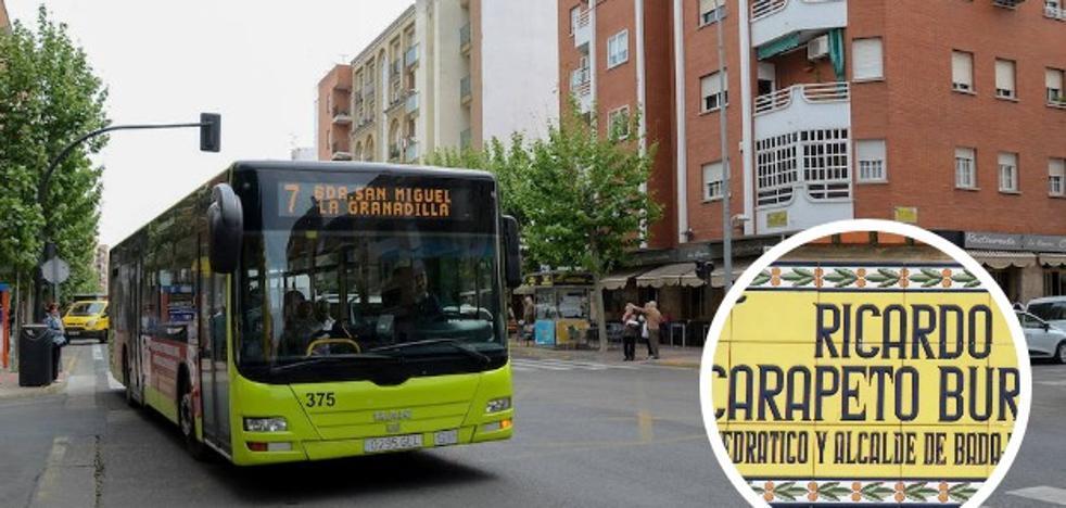 La Diputación exige quitar las calles a Fernando Calzadilla y Ricardo Carapeto en Badajoz
