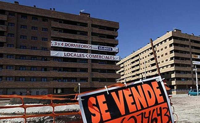 Los desahucios hipotecarios caen un 40% en la región