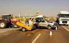 Tres tramos de carreteras extremeñas están considerados de riesgo elevado de accidente
