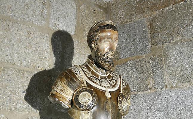 El busto de Carlos V no podrá salir de España tras ser subastado el día 28