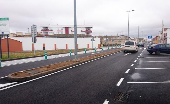 El tramo urbano de la Ex-346, a su paso por Don Benito, abre al tráfico tras las obras