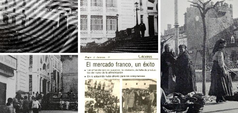 Micromachismo en el mercadillo de Cáceres que acaba de cumplir 40 años