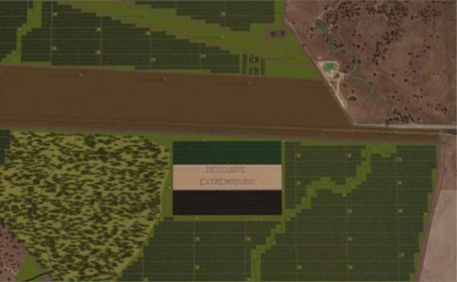 La fotovoltaica prevista en Talayuela formará una enorme bandera extremeña