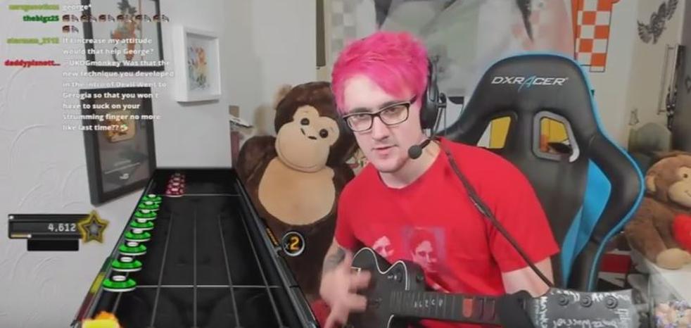 El dios de Guitar Hero