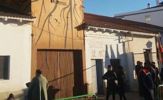 El silo La Triguera de Olivenza ya funciona como contenedor de arte