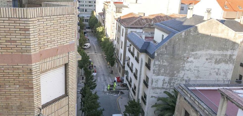 Todo a punto para la peatonalización de Obispo Ciriaco y su entorno