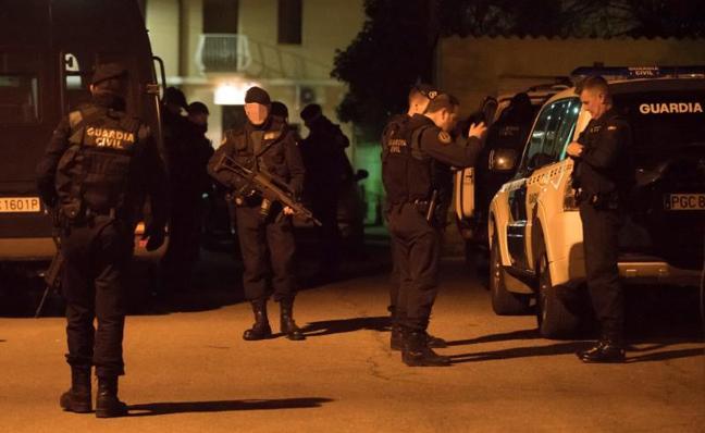 Detenido el presunto asesino de tres personas, dos de ellas guardias civiles, en Teruel