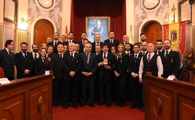 La Banda de música recibe la Medalla de la Ciudad