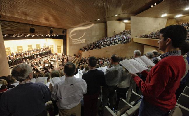 Un Aleluya con centenares de voces
