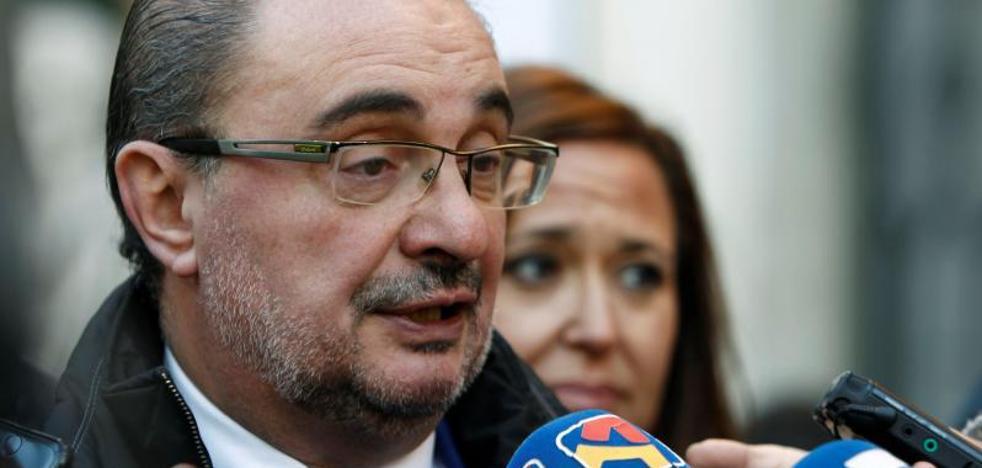 Lambán, sobre Sijena: «El ministro o es tonto o nos toma por tontos»