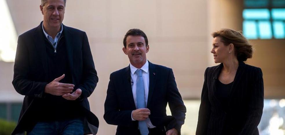 El exprimer ministro Manuel Valls secunda a PP, Cs y PSC: «Europa necesita a España»