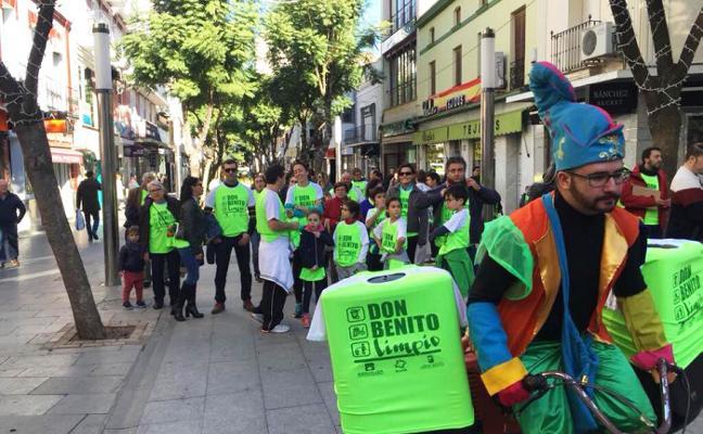 Marcha ciudadana para pedir más colaboración en la limpieza urbana