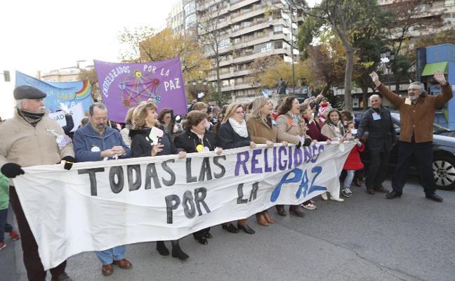 La marcha por la paz defiende el papel de las personas refugiadas