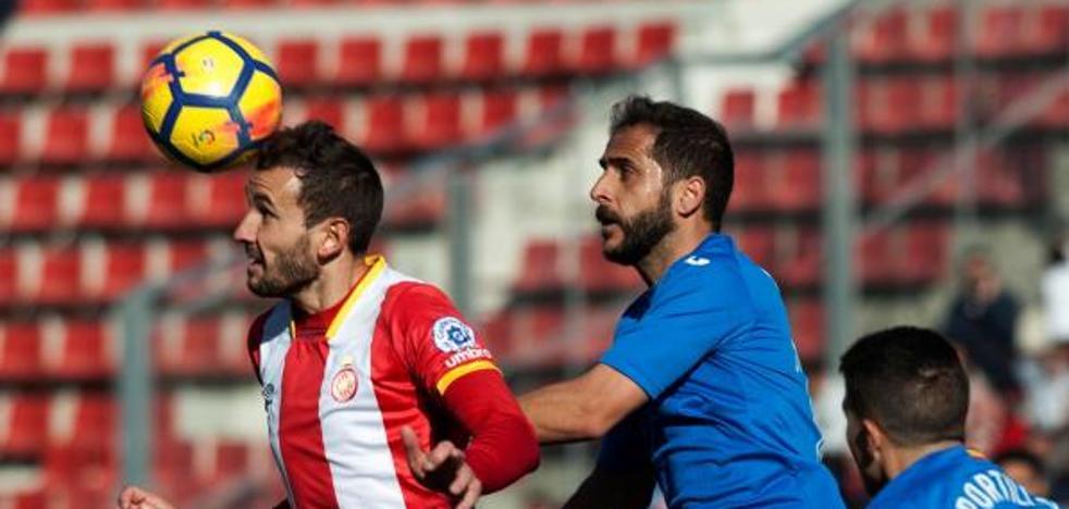 El Girona mira a Europa tras el gol de Stuani ante el Getafe