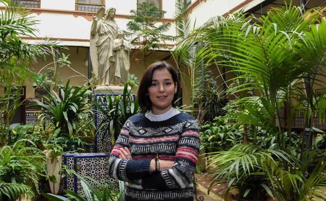 Marta García, una joven al servicio de la discapacidad