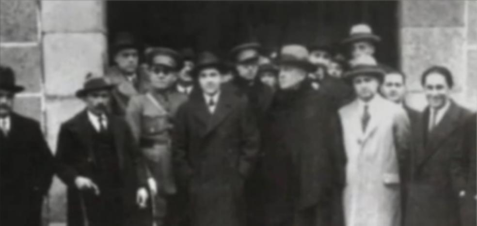 Proyección del documental sobre los 196 fusilados en Cáceres en la Navidad de 1937