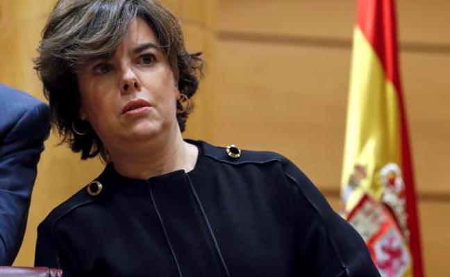 Santamaría reprocha al independentismo tener «la piel más fina que la lengua»