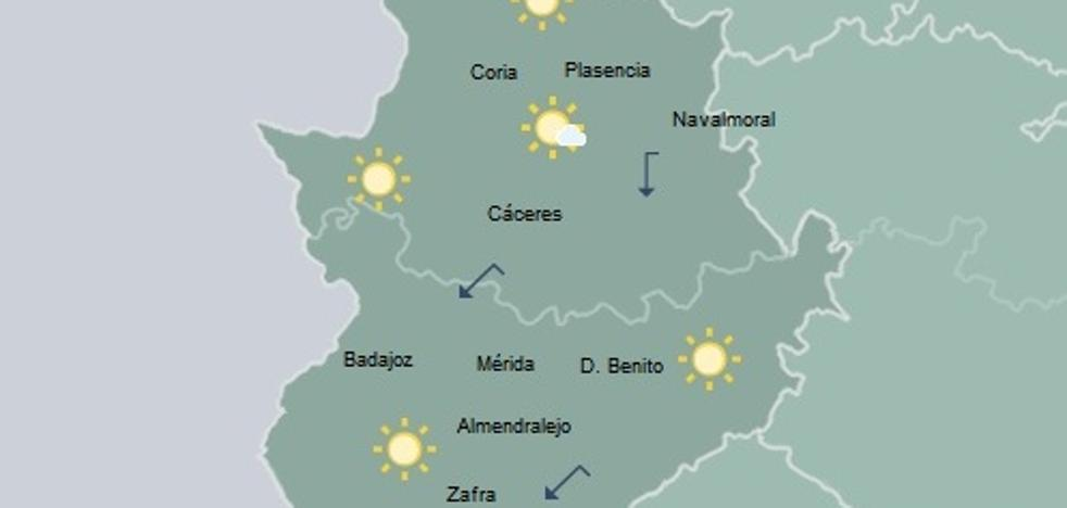 Mañana, temperaturas en ligero ascenso