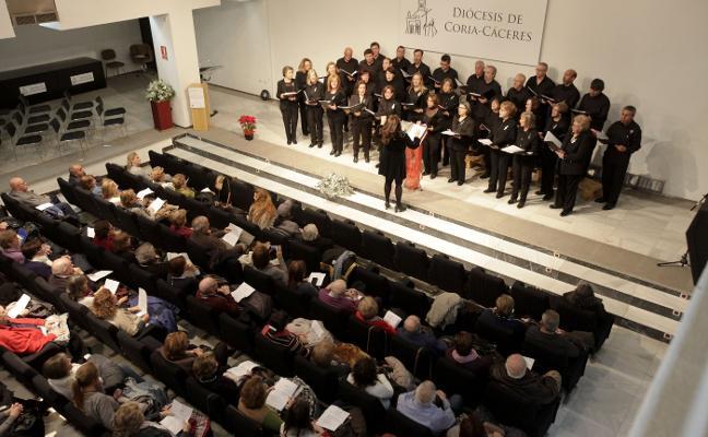 El coro Francisco de Sande entona la Navidad en Aula HOY