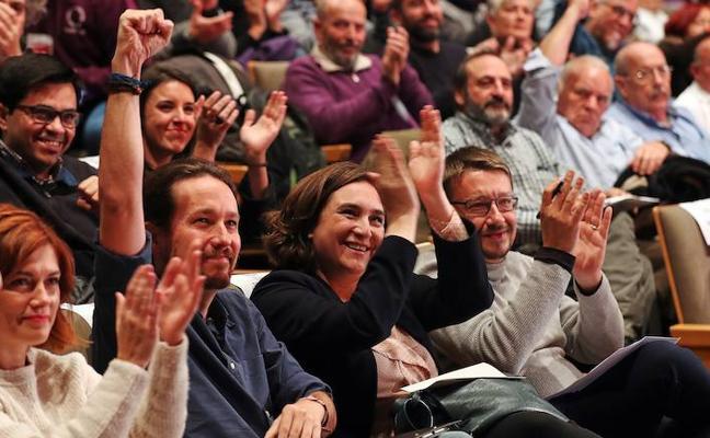 Catalunya en Comú: La alternativa entre el bucle del 'procés' y el 155