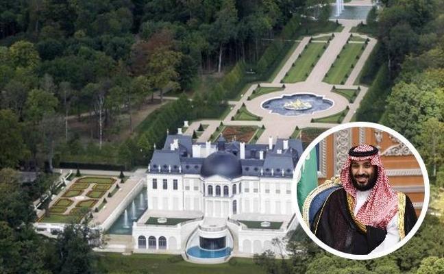 El heredero saudí tiene la casa más cara