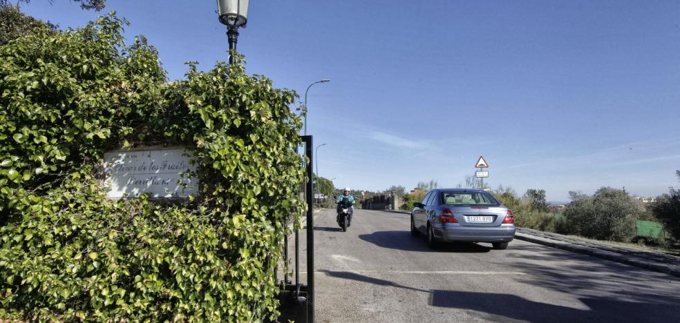 La Policía admite el aumento de robos en la Sierrilla y aconsejó cerrar un acceso