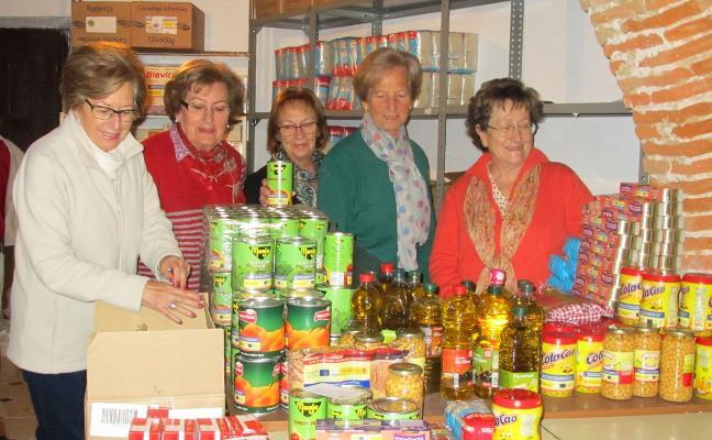 Cáritas ayuda a casi un centenar de familias en Jaraíz