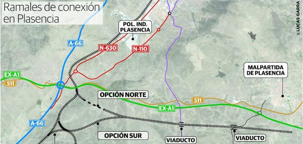 Adif inicia el diseño del acceso a Plasencia del AVE que proceda de Madrid
