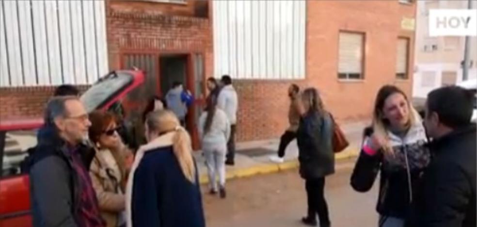 Diez personas identificadas por la ocupación de viviendas de la Guardia Civil en Badajoz