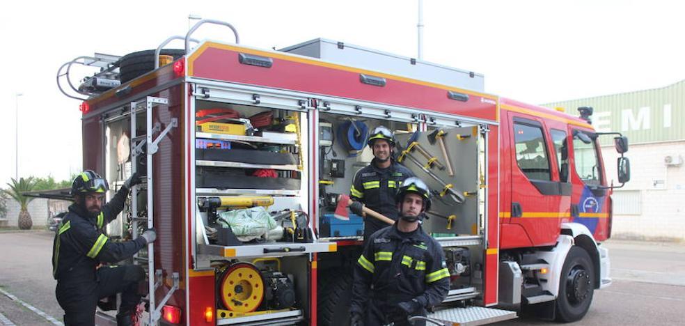 36 nuevas contrataciones en los parques de bomberos de la Diputación pacense