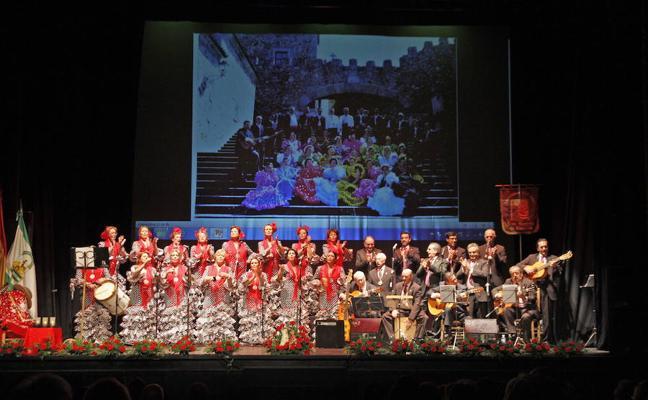 Recital de villancicos del Coro Rociero en el Gran Teatro