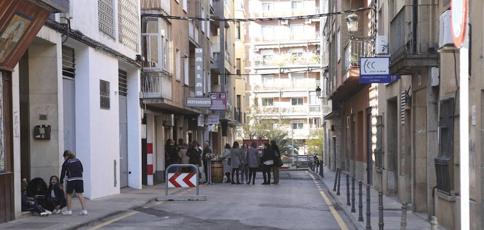 La nueva zona peatonal de Cáceres arranca con empuje para los hosteleros