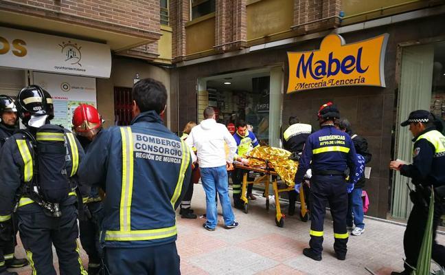 Tres heridos tras la explosión de una bombona de gas en el Mercado de Abastos de Lorca