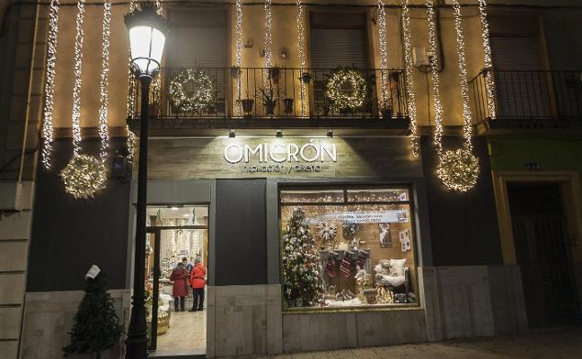 La cascada de luz de Omicrón, mejor escaparate navideño