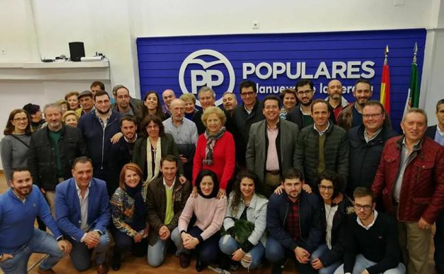 Lozano integra en la ejecutiva del PP a los ediles del grupo municipal