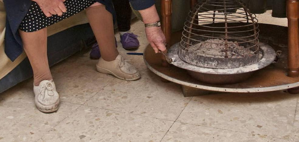 Siete personas intoxicadas con un brasero de carbón en Montehermoso