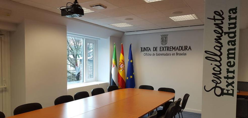 La Oficina de Extremadura en Bruselas cumple 25 años en pleno corazón de la Unión Europea