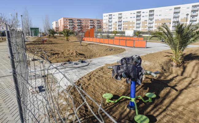 El Consistorio de Badajoz acelera las obras del plan de impulso para acabarlas esta semana