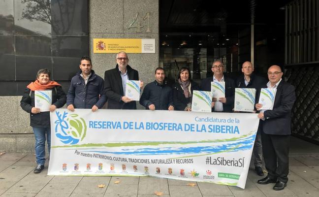 La candidatura de La Siberia a Reserva de la Biosfera se presenta en el Ministerio de Medio Ambiente