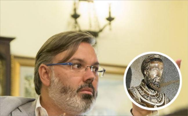 Pizarro pide más protección para que el caso del busto de Carlos V no se repita