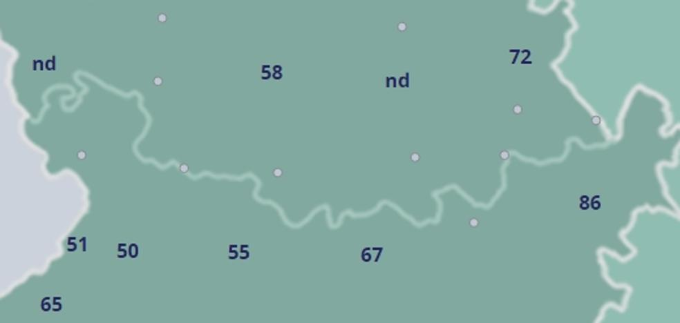 Tornavacas registra la racha de viento más fuerte por el paso de 'Bruno', con 87 km/h