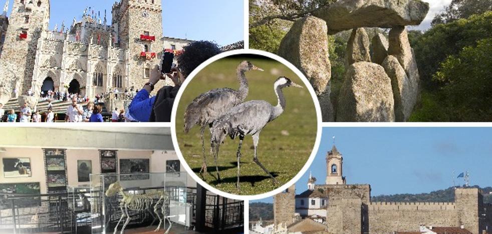 Cinco planes diferentes para conocer Extremadura en 2018