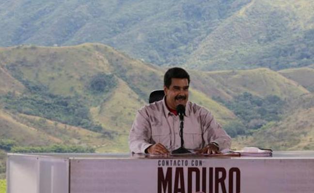 Nicolás Maduro culpa a Portugal de no haber podido repartir jamones navideños